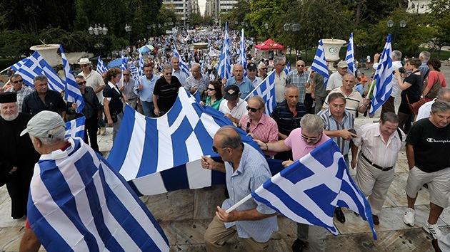 En vivo: Grecia se paraliza por otra huelga general contra el 'tijeretazo'