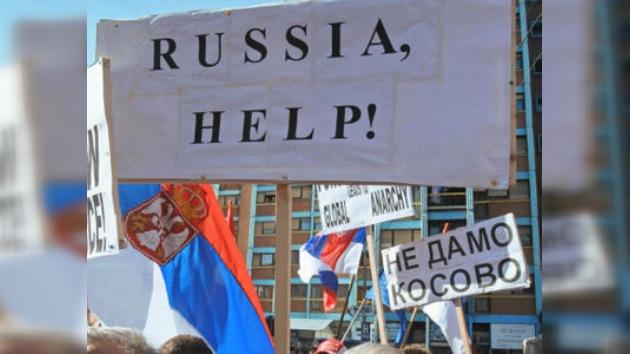 Más de 20.000 serbios kosovares piden la ciudadanía rusa