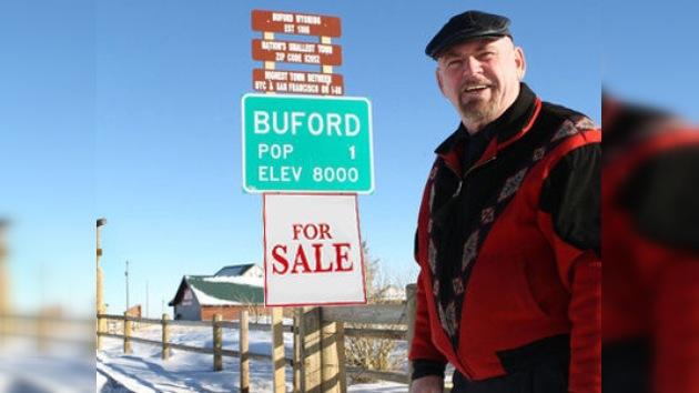 Cien mil dólares de soledad: el último habitante de un pueblo de EE. UU. lo saca a subasta