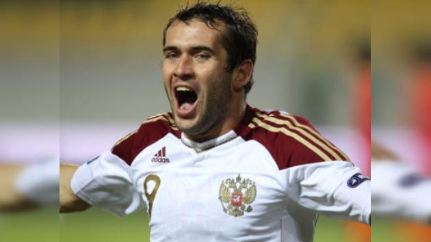 Rusia vence a Macedonia y lidera su grupo clasificatorio para la Euro2012