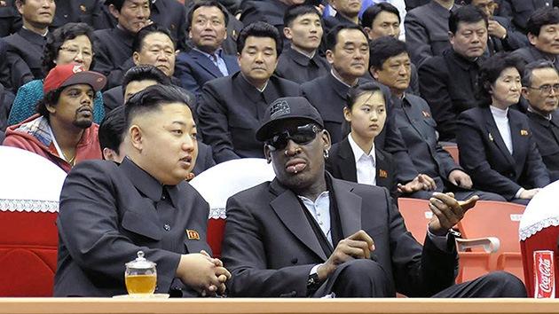 ¿Reconciliará Dennis Rodman a EE.UU. y Corea del Norte?