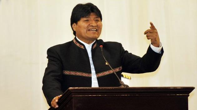 Morales: EE.UU. alaba a Colombia porque esta aceptó sus bases militares