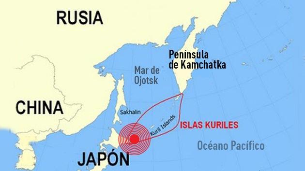 Registran un sismo de magnitud 6,4 en Extremo Oriente ruso, cerca de Japón