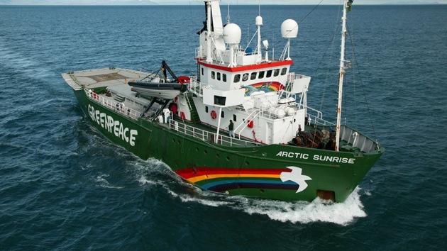 Rusia considera extremistas las acciones de Greenpeace en el Ártico