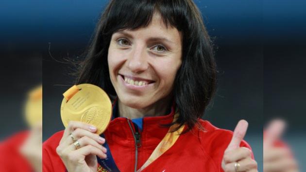 La rusa María Sávinova reconocida como la mejor atleta europea del año