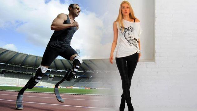 Corredor con prótesis sudafricano conquista el corazón de una top model rusa