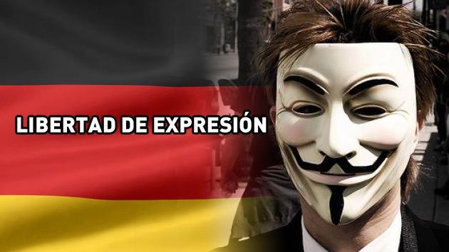 Anonymous ataca a defensores de derechos de autor en Alemania