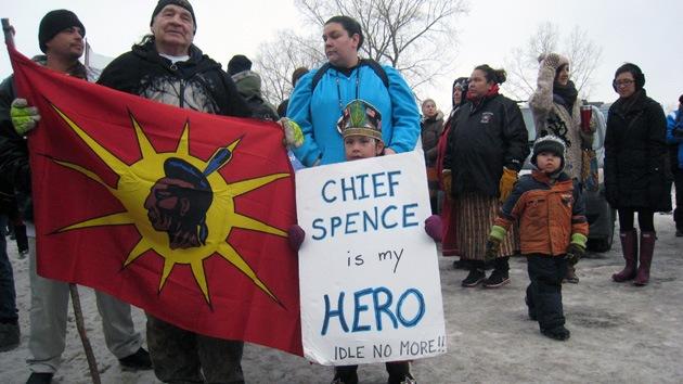 ¿Un nuevo OWS?: Movimiento indígena canadiense gana impulso mundial