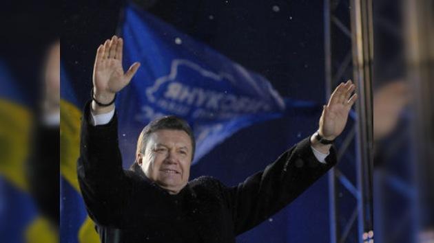 Yanukóvich proclamado presidente de Ucrania