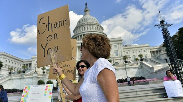 La disputa presupuestaria en EE.UU. causa pérdidas por 2.000 millones de dólares