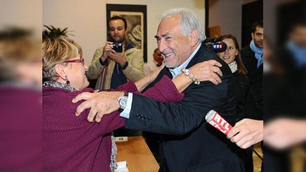 Strauss-Kahn no será juzgado en Francia por intento de violación