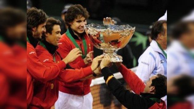 Rafael Nadal conquista la quinta Copa Davis para España