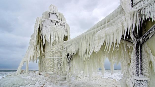 EE.UU. se congela: la población sobrevive a un frío de récord