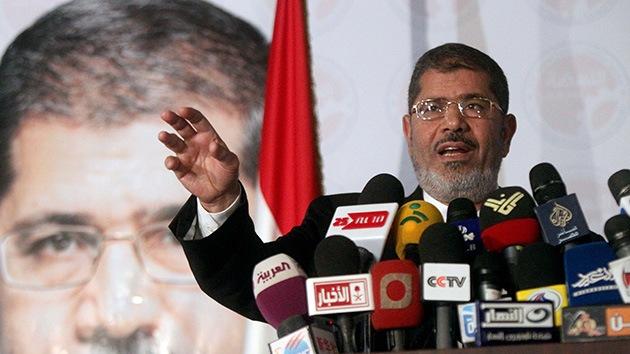 """Morsi: """"No toleraré que nadie trabaje para derrocar un gobierno legítimo"""""""