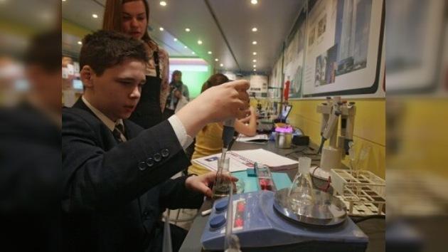 Se abre una expo de nanotecnologías en el Museo Politécnico de Moscú