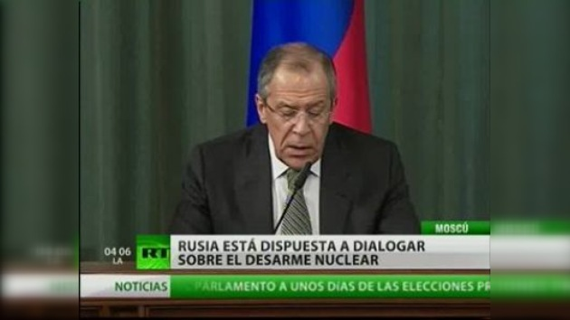 Rusia está dispuesta al diálogo sobre la ubicación de armas estratégicas