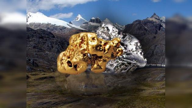 Encuentran nuevas reservas de oro y plata en los Andes peruanos