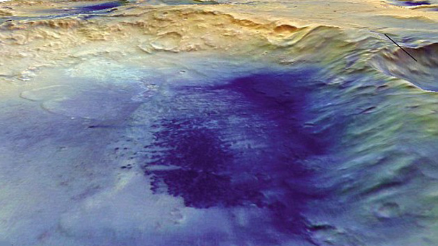 """Marte pode ter abrigado """"vida oculta"""" sob a superfície"""