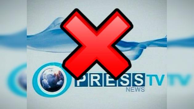 El Reino Unido 'corta el cable' al canal iraní Press TV