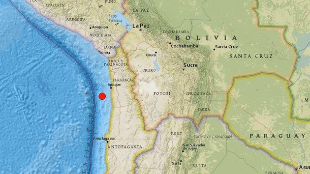 Un sismo de magnitud 6,0 sacude Chile