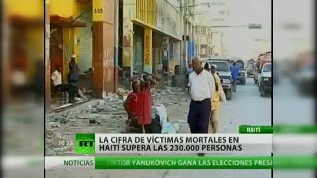 La cifra de víctimas mortales en Haití supera las 230.000 personas