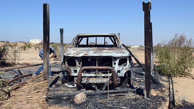 Ataque suicida a cuartel en Sinaí deja varias víctimas mortales