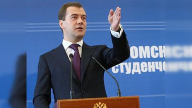 El 'guión' de Medvédev para modernizar la economía rusa