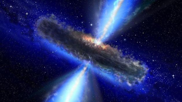 Hallan el mayor grupo de quásares conocido en el universo