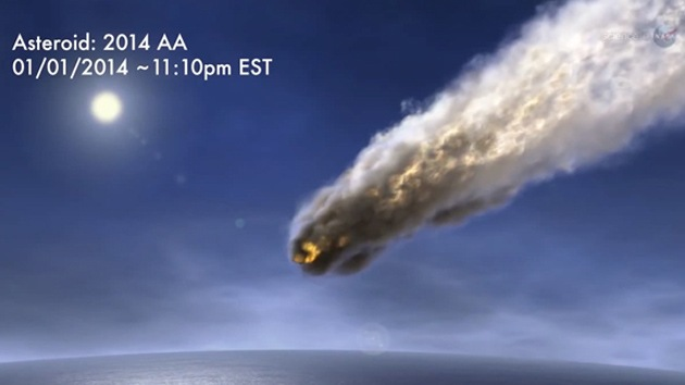 Detectores de bombas atómicas registran cómo un asteroide entra en la atmósfera