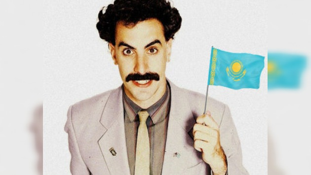 Confunden una canción de 'Borat' con el verdadero himno de Kazajistán
