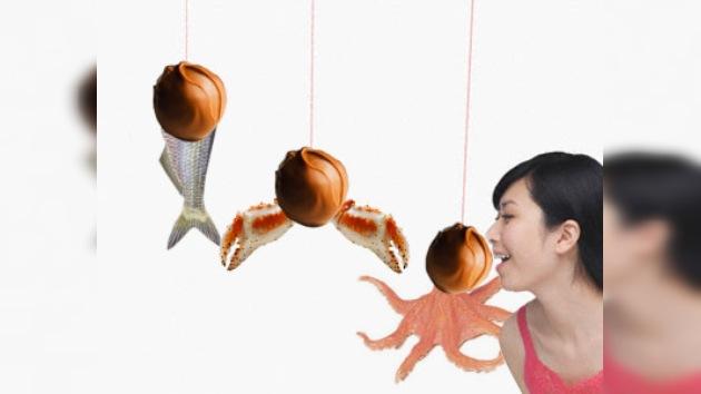 Japón lanza bombones con sabor a pollo y pescado
