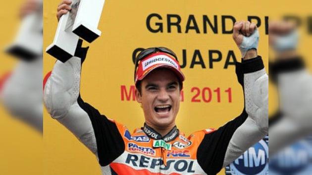 Dani Pedrosa se impone a Stoner en el GP de Japón por 54 milésimas de segundo