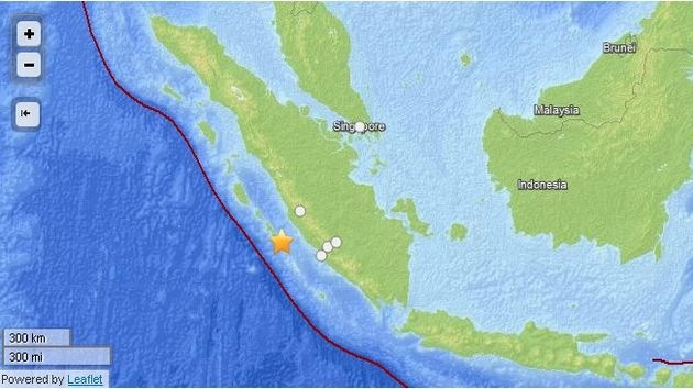 Un sismo de 6,4 grados sacude Indonesia