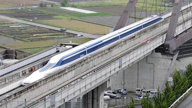 Japón prueba el tren 'flotante' más veloz del mundo