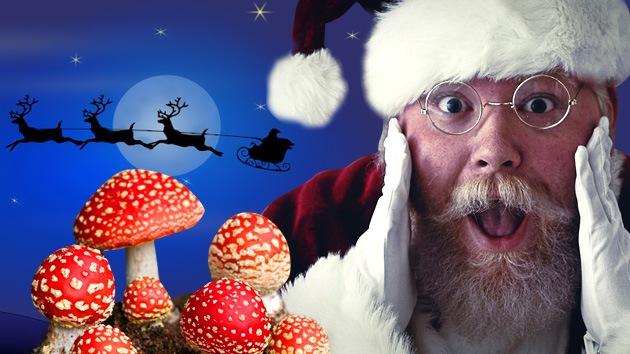 ¿Chamán Noel?: El mito de Santa Claus echó a volar gracias a los hongos alucinógenos