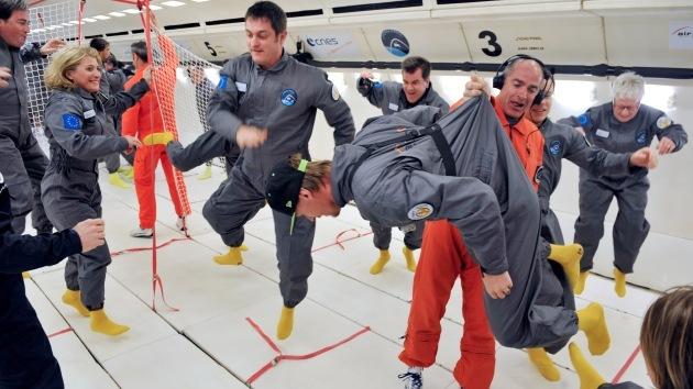 Fotos: Primer vuelo comercial en Europa en un avión sin gravedad