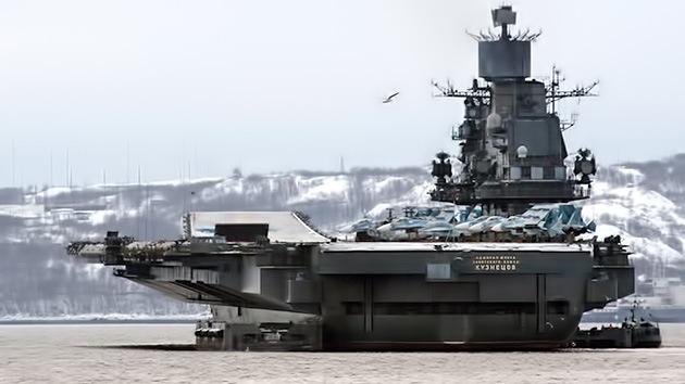 La Armada rusa tendrá drones submarinos y un sistema antiaéreo similar al Aegis