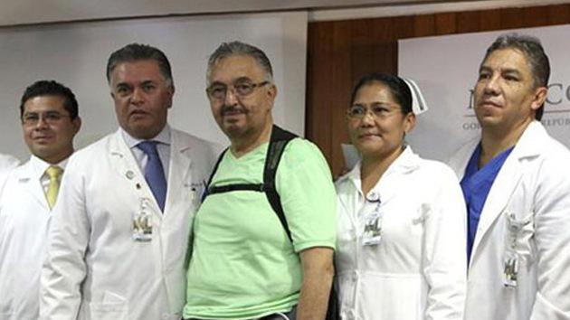 Un mexicano vive con el primer corazón artificial permanente de América Latina