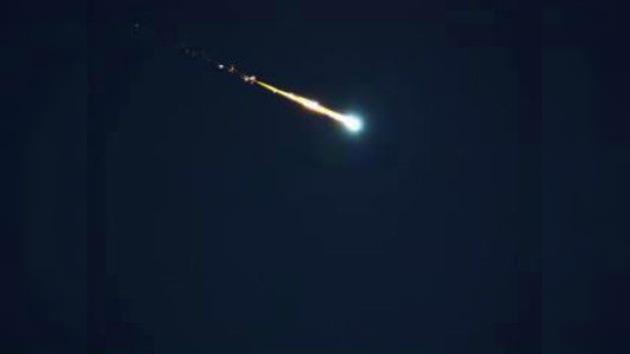 Un meteorito cae en Guatemala provocando temblores