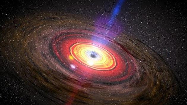 Un agujero negro estalló hace dos millones de años: el 'dragón dormido' puede despertar