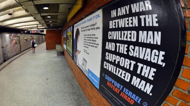 """El metro de Washington también invitará a """"derrotar a la yihad"""""""