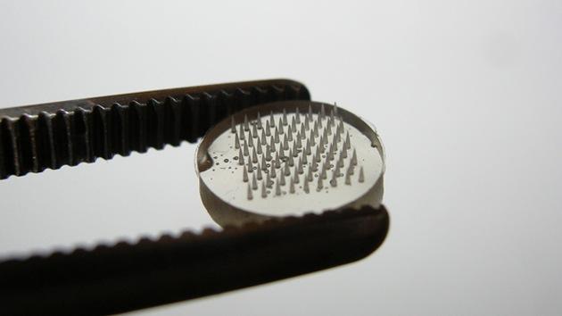 Inventan un parche para administrar vacunas de ADN