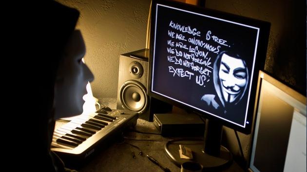 Miembros de Anonymous podrían estar involucrados en la ciberguerra China-EE.UU.
