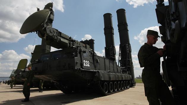 Rusia se armará con el nuevo sistema de misiles antiaéreos S-300V4 en 2014
