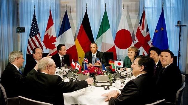El G7 impondría nuevas sanciones económicas a Rusia a partir de lunes