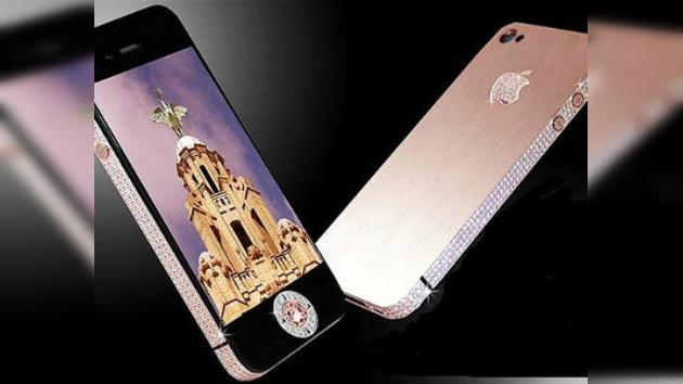 Presentan la versión más glamourosa del Apple iPhone 4