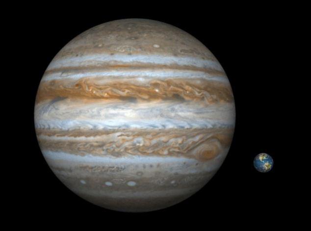 Real Pictures Of Jupiter The Planet Descubren un pl...