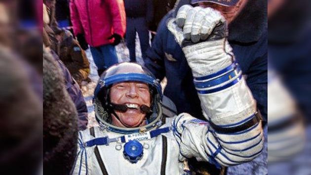 Los tripulantes de la plataforma orbital regresan a la Tierra