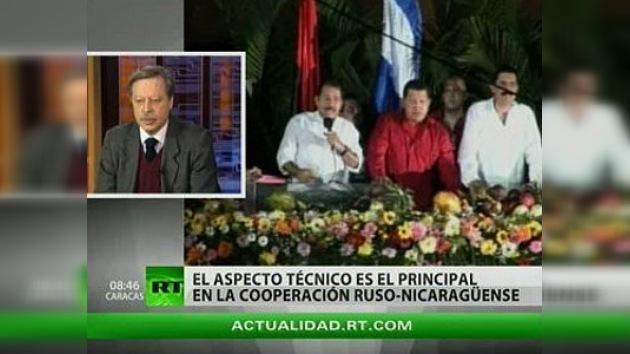 El canciller ruso inicia su visita a Nicaragua