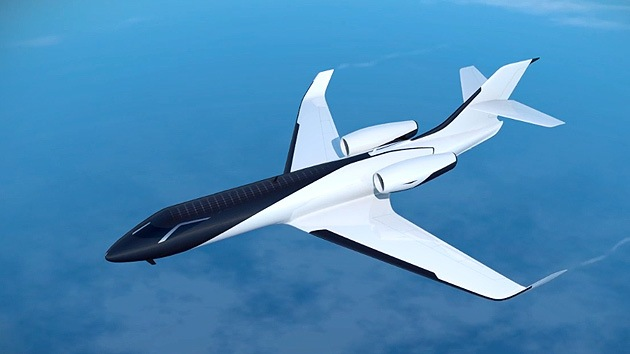 VIDEO: Diseñan el primer avión privado 'sin ventanas'